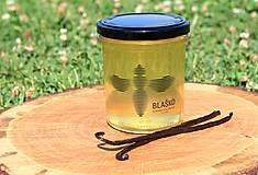 - Agátový med s vanilkovým luskom 400g  - 8463436_