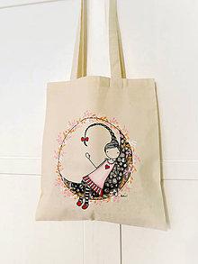 Nákupné tašky - Len ja a môj svet - nákupná taška III. - 8463001_