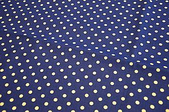 Na tablet - Obal na čítačku alebo tablet - #22 látka biele bodky na modrom - 8462692_