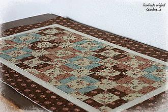 """Úžitkový textil - obrus """"southern vintage"""" - 8462688_"""