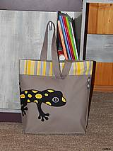 - Nákupná taška - salamandra  - 8463691_