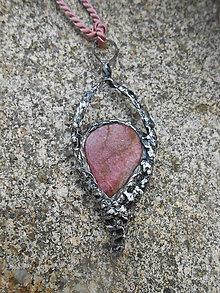 Náhrdelníky - Kvapka lásky - 8461428_