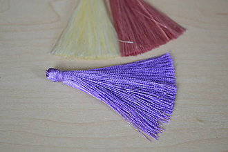 Polotovary - Strapec hodvábny fialový 65mm, 0.50€/ks - 8461946_