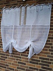 Úžitkový textil - Záclonka Princess Isabelle - 8463674_