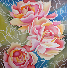 Obrazy - Pastel Peonies - 8462350_