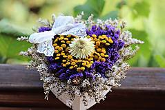 Dekorácie - Kvetinová krabička - 8466215_