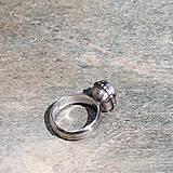 Prstene - Strieborný prsteň - Tam-tam - 8466243_