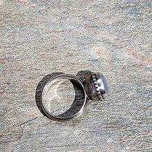 Prstene - Strieborný prsteň - Tam-tam - 8466241_