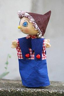 Hračky - Maňuška. Bábika Janíčko, čo ježibabe z lopaty utiekol. - 8465718_
