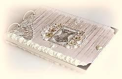 Papiernictvo - Dnes som princezná-fotoalbum,narodeninový,svadobný album,vintage album na fotky - 8466484_
