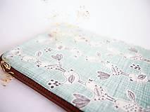 Na tablet - Vtáci - obal na tablet (rozmer č.4) - 8469203_