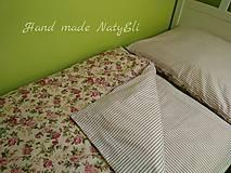 Obliečky na posteľ romantickééé...