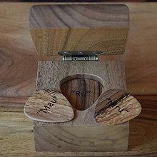 "Krabičky - Krabička z orechového dreva pre ""hudobníka"" - 8468693_"