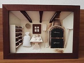 Obrázky - Drevený obraz 3-D