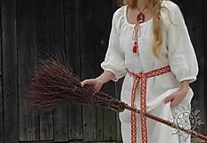 Šaty - Ľanové šaty Blahomila - 8469655_
