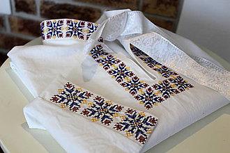 Oblečenie - Pánska folk košeľa III - 8470361_