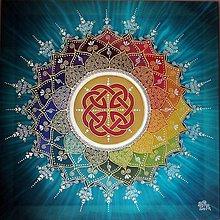 Obrazy - Mandala šťastia a energie - 8470489_