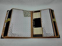Papiernictvo - Dovolenkový steampunk fotoalbum pre cestovateľov - veľký, luxusný - 8467963_