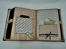 Papiernictvo - Dovolenkový steampunk fotoalbum pre cestovateľov - veľký, luxusný - 8467964_