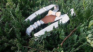 Detské súpravy - Detský set - drevený motýlik a traky - 8468365_