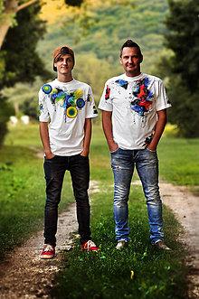 Oblečenie - Pánske tričko - Guliverove cesty - 8468777_