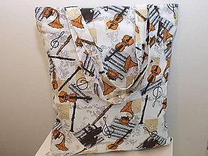 Nákupné tašky - ...pre hudobníčku.. - 8468686_