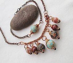 Sady šperkov - natur - 8467809_