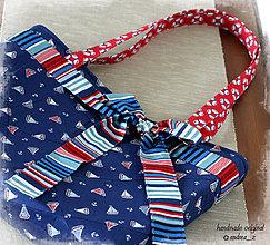 """Veľké tašky - taška """"marine"""" - 8468955_"""