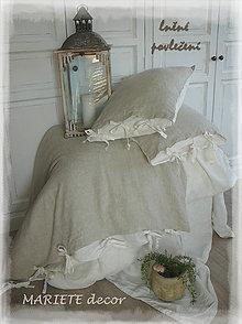 Úžitkový textil - NOVÉ ...lněné povlečení Côte d'Azur - 8472174_