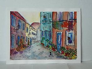 Obrazy - na ulici so susedmi - 8471650_