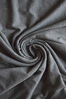 Textil - Jednolíc BAMBUS vis. elastický – mourek - 8470649_