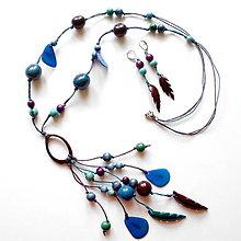 Sady šperkov - Collar de semillas I. - 8470935_