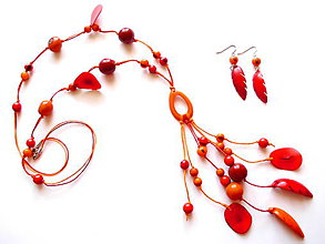 Sady šperkov - Collar de semillas IV. - 8471053_