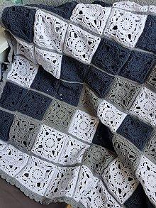 Úžitkový textil - Háčkovaná deka JARKA - 8471908_