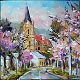 Obrazy - Mesto vo farbách II. - 8471121_