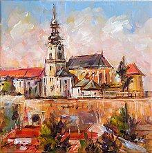 Obrazy - Mesto vo farbách I. - 8471106_