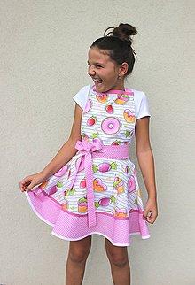 Detské oblečenie - detská zásterka Eli - 8475115_