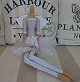 Bábiky - Sivomodrá baletka - 8474025_