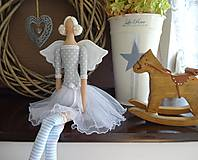 Bábiky - Sivomodrá baletka - 8474028_
