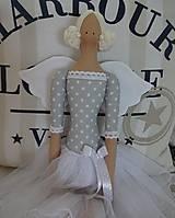 Bábiky - Sivomodrá baletka - 8474030_