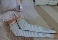 Bábiky - Sivomodrá baletka - 8474031_