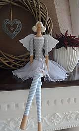 Bábiky - Sivomodrá baletka - 8474032_