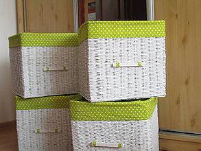 Košíky - Košíky - Bdkované jabĺčka - 8474935_