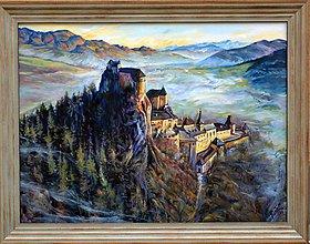 Obrazy - Orava castle from above - 8475515_