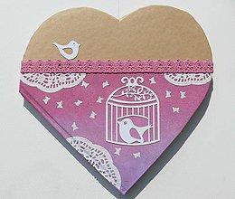 Papiernictvo - Zápisník Srdce - 8474181_