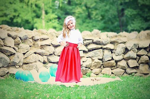 Detská MAXI suknička