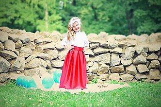 Detské oblečenie - Detská MAXI suknička - 8474563_