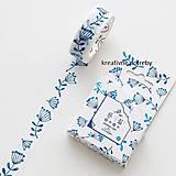 Papier - Washi páska - Blue nature - 8474593_
