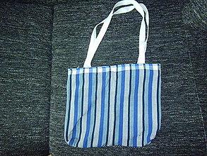 Veľké tašky - modrá taška - 8474705_