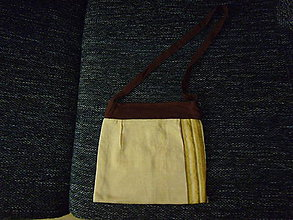 Veľké tašky - žltohnedá taška - 8474762_